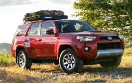 2019 Toyota 4runner limited Engine Specs and Release Date