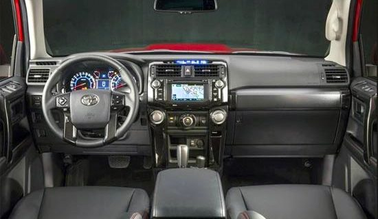 2019 Toyota 4runner Limited Interior