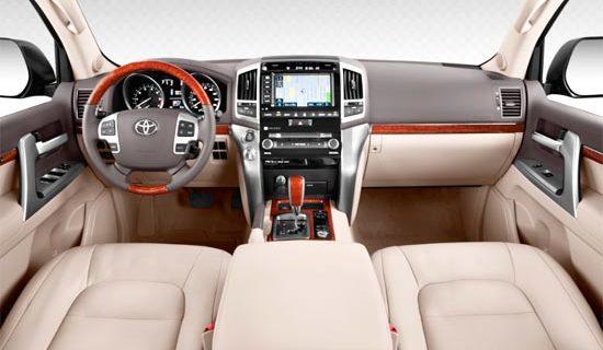 2019 Toyota Land Cruiser 300 Interior