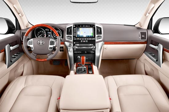 2019 Toyota Land Cruiser 300 Interior