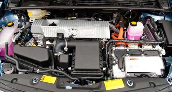 2019 Toyota Prius C Engine