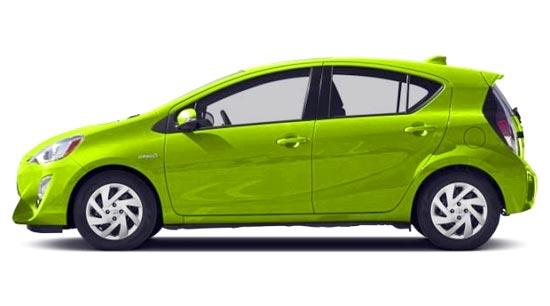 2019 Toyota Prius C Exterior