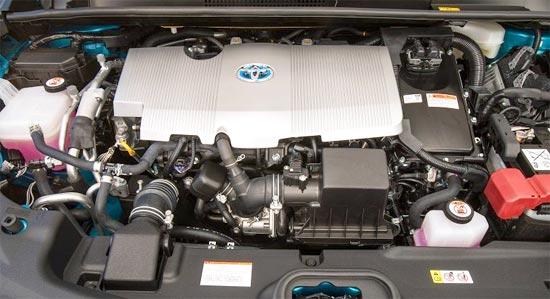 2019 Toyota Prius C Hatchback Engine