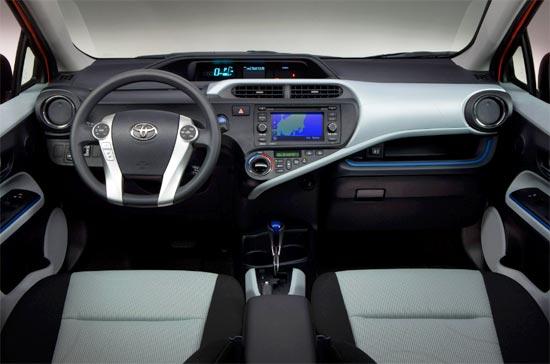2019 Toyota Prius C Hatchback Interior