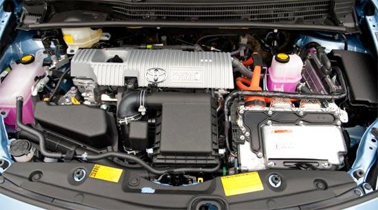 2019 Toyota Prius C Hybrid Engine