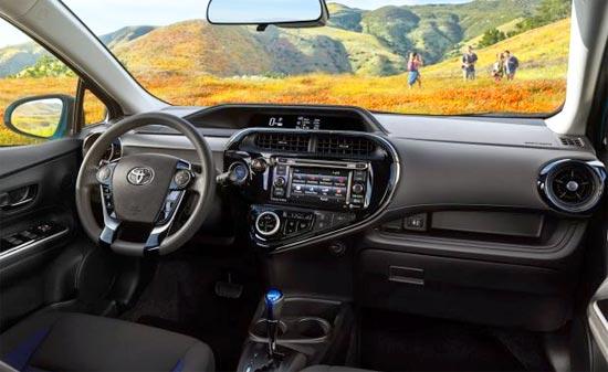 2019 Toyota Prius C Hybrid Interior