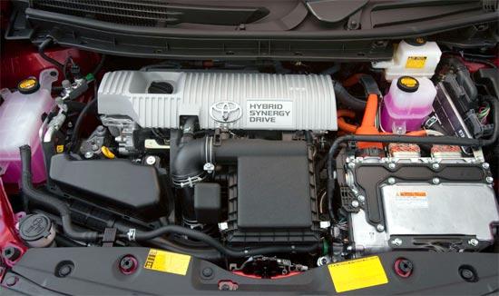2019 Toyota Prius Hybrid Engine
