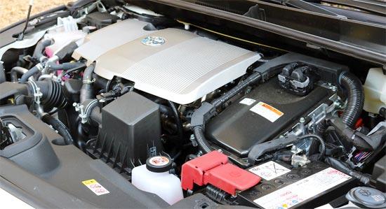 2019 Toyota Prius Prime Engine