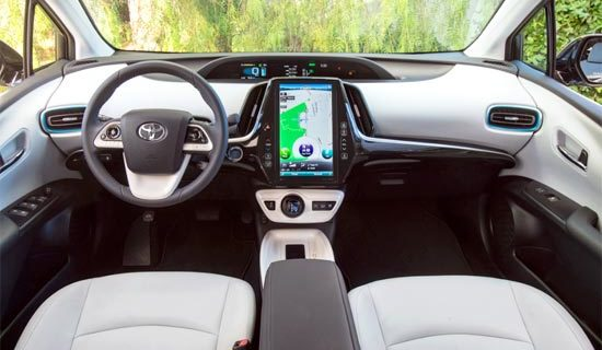 2019 Toyota Prius V Interior