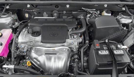 2019 Toyota RAV4 Limited Hybrid Engine