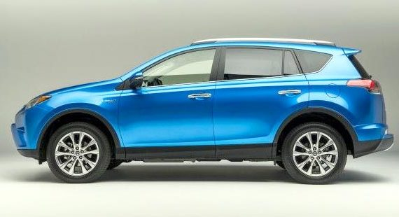 2019 Toyota RAV4 Limited Hybrid Exterior