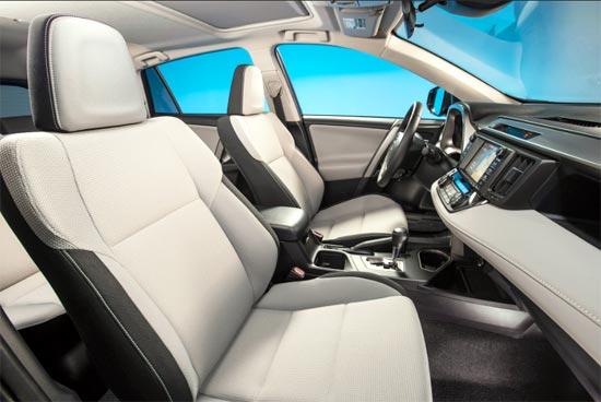 2019 Toyota RAV4 Limited Hybrid Interior