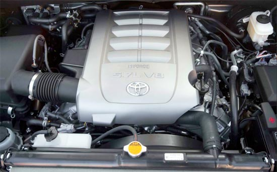 2019 Toyota Sequoia Engine