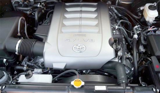 2019 Toyota Sequoia Limited Engine