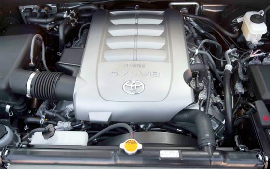 2019 Toyota Sequoia Limited Engine