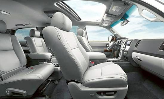 2019 Toyota Sequoia Platinum Interior