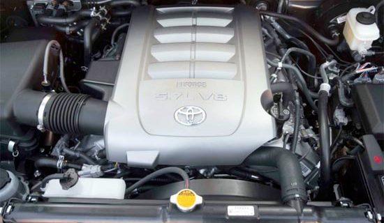 2019 Toyota Sequoia TRD Sport Engine
