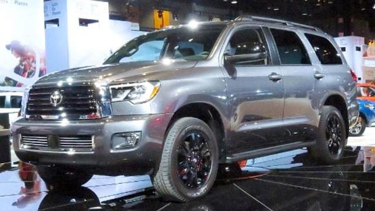 2019 Toyota Sequoia Trd Sport Price And