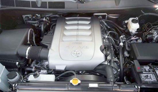 2019 Toyota Sequoia Platinum Engine