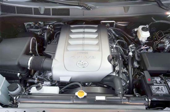 2019 Toyota sequoia platinum Engine