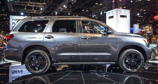 2019 Toyota sequoia platinum Exterior