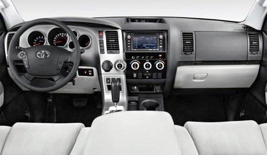 2019 Toyota Sequoia Platinum Interior