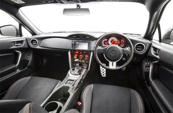 2019 Toyota 86 GTS Interior