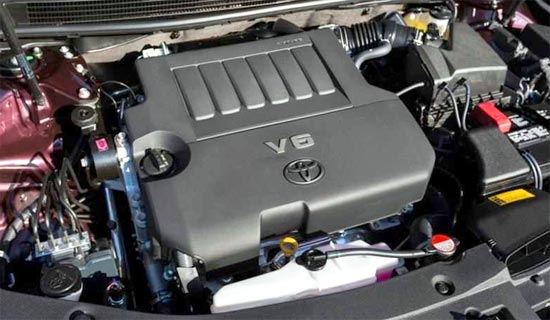 2019 Toyota Avalon Engine