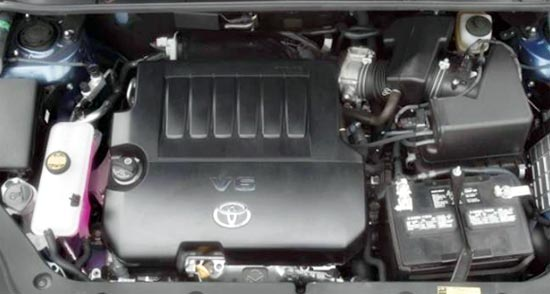 2019 Toyota RAV4 Limited Engine