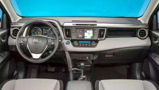 2019 Toyota RAV4 Limited Interior