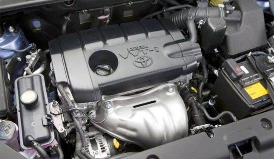 2019 Toyota RAV4 SE Engine