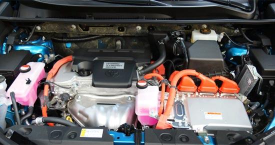 2019 Toyota RAV4 SE Hybrid Engine