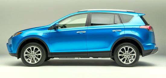 2019 Toyota RAV4 SE Hybrid Exterior