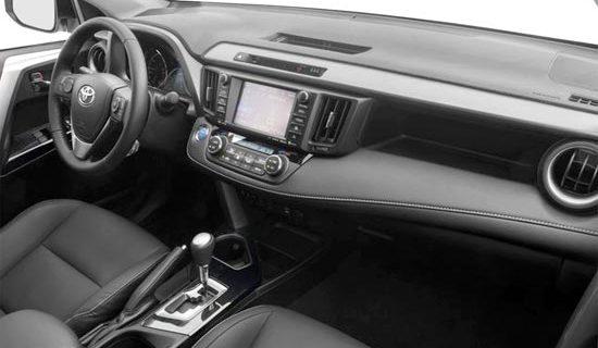 2019 Toyota RAV4 SE Hybrid Interior