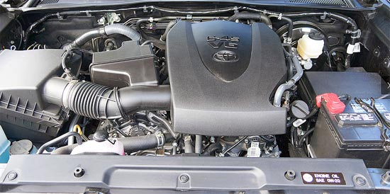 2019 Toyota Tacoma 4x4 Double Cab Engine