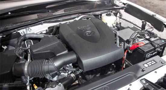 2019 Toyota Tacoma Limited Engine