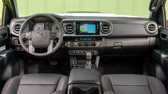 2019 Toyota Tacoma Limited Interior