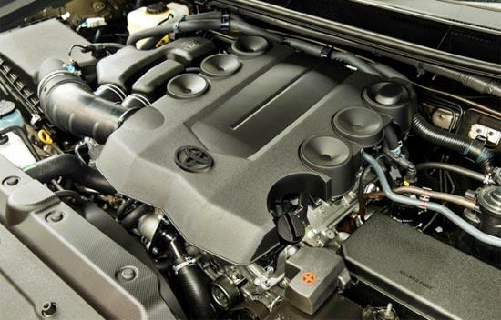 2019 Toyota Tacoma TRD Engine