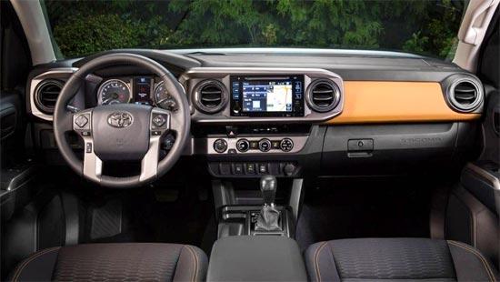 2019 Toyota Tacoma TRD Interior