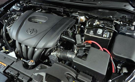 2019 Toyota Yaris Hatchback Engine