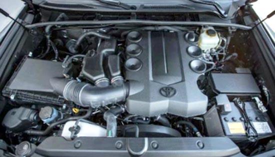 2019 Toyota Tundra Platinum Engine