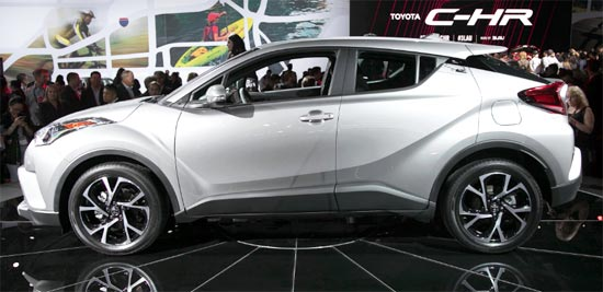 2019 Toyota C-HR Best SUV Exterior