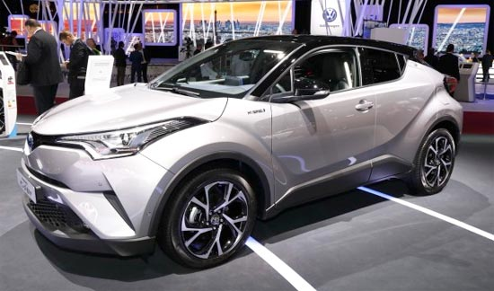 2019 Toyota C-HR Hybrid Review, Changes and Engine ...