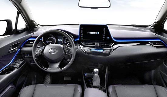 2019 Toyota C HR XLE Hybrid Interior