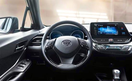 2019 Toyota C-HR XLE Interior