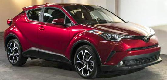 2019 Toyota C-HR XLE Reviews, Redesign and Release Date
