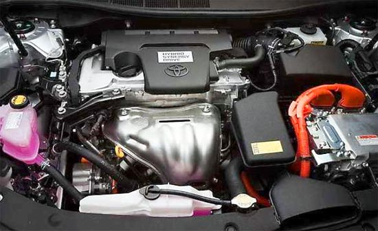 2019 Toyota Camry Hybrid Engine