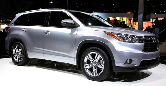 2019 Toyota Highlander Hybrid Exterior