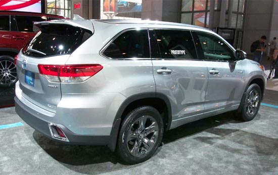 2019 Toyota Highlander Hybrid Release Date and Price