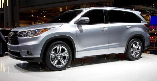 2019 Toyota Highlander Limited Platinum Exterior